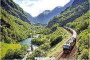 норвегия фьорды поезд тур