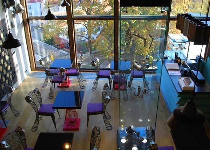 Таллинн: кафе в Девичьей башне