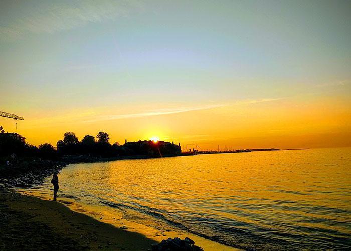 После концерта Metallica отдыхаем в Таллинне на пляже