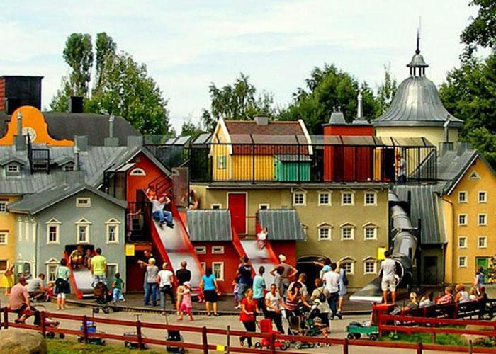 Юнибакен - музей сказок в Стокгольме