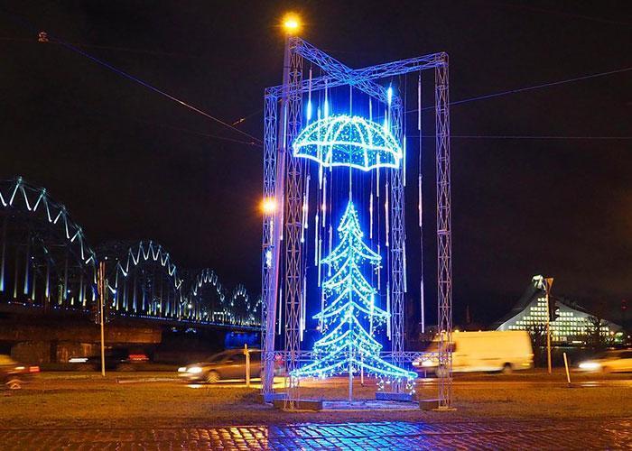 Новый год и Рождество в Европе: Рига