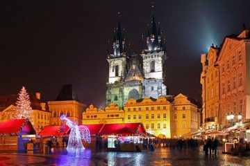 Тур в Прагу на Рождество