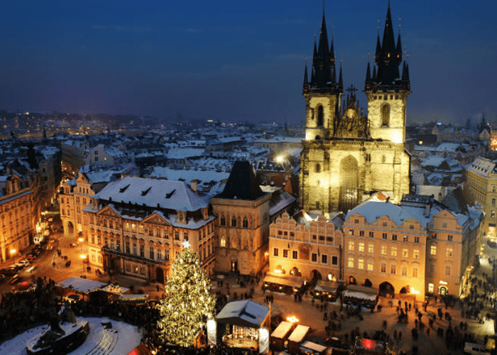 Рождество в Вене и Праге