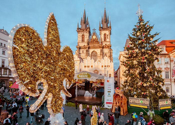 Волшебное Рождество и Новый год в Праге
