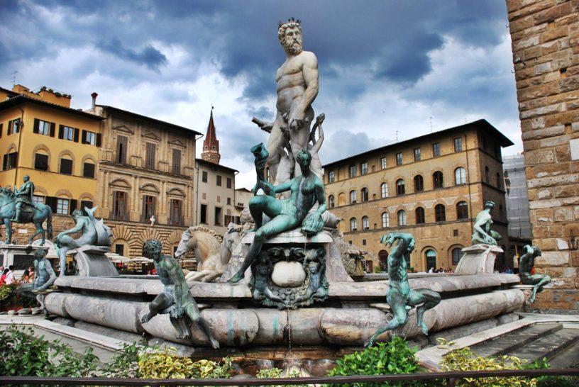 Флоренция фонтан