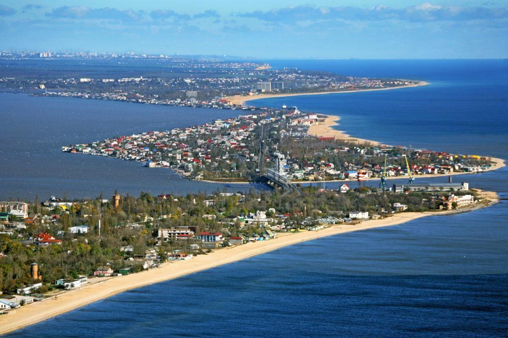 Затока побережье