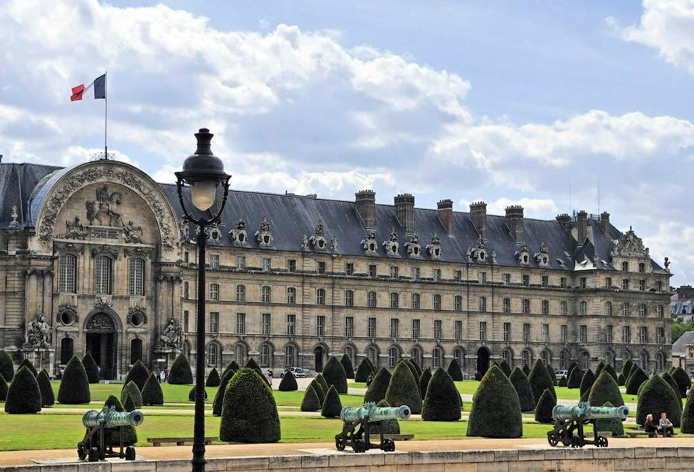 Париж Дом Инвалидов