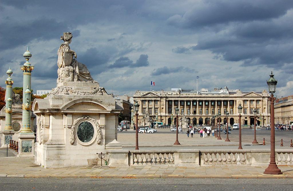 Париж Площадь Согласия