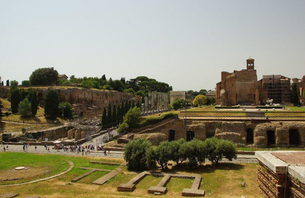 Рим Палатинский холм
