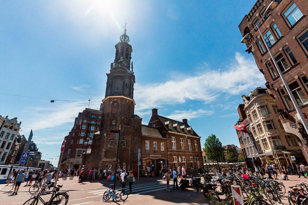 Амстердам Монетная площадь