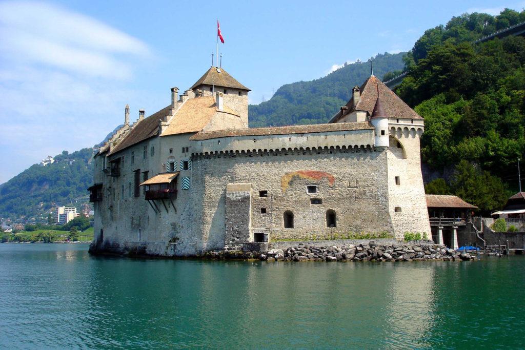 Женева Шильонский замок
