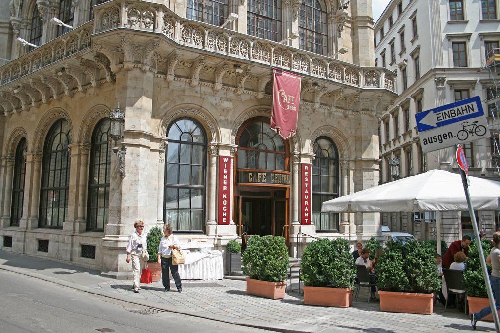 Кафе Централь в Вене