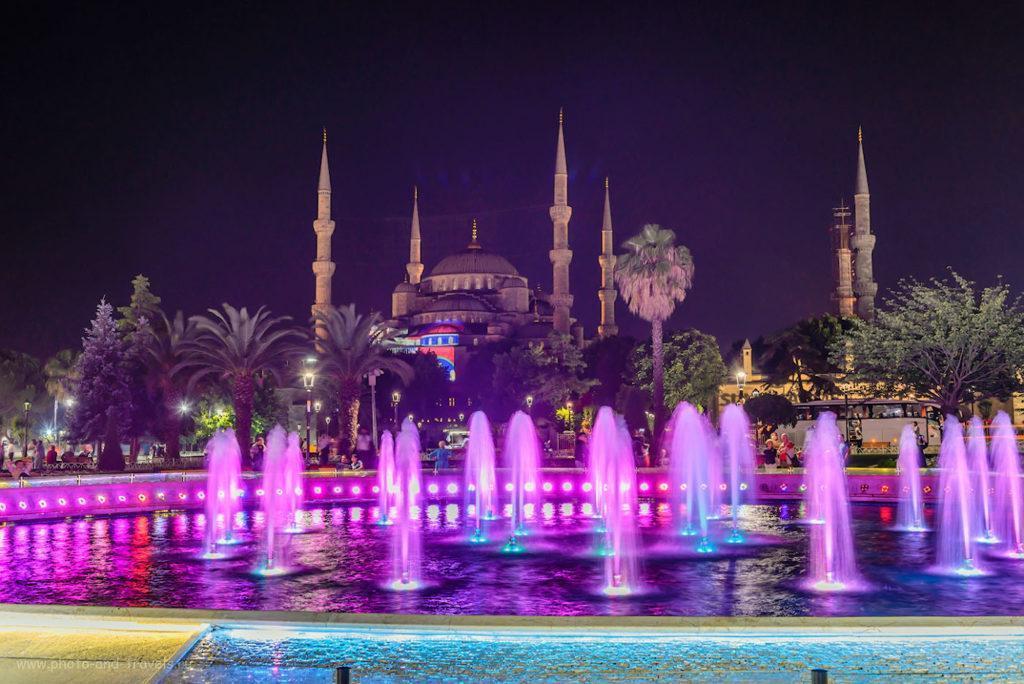 Площадь фонтанов в Стамбуле
