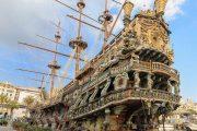 Генуя - крупный портовый город в Италии
