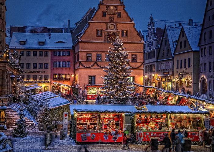 Рождественские туры по Европе