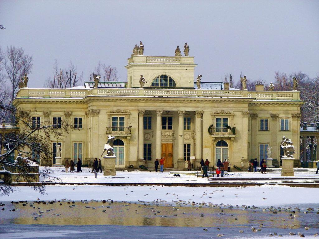 Лазенковский парк в Варшаве